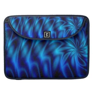 Blue Swirl Sleeve For MacBook Pro