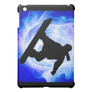 Blue Swirl Snowstorm Case For The iPad Mini