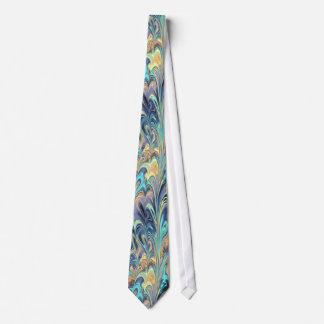 Blue Swirls Tie