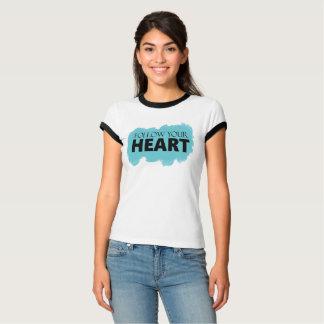 Blue Swish Follow your Heart Tank Top