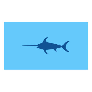 Blue Swordfish Business Card