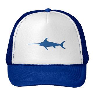 Blue Swordfish Trucker Hat