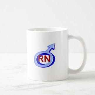 Blue Symbol Male RN Coffee Mug