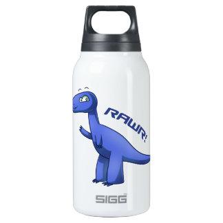 Blue T-Rex Insulated Water Bottle