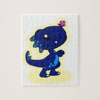 Blue T-Rex Puzzles