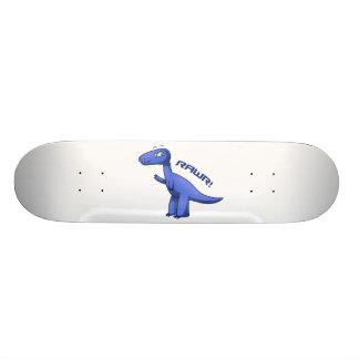 Blue T-Rex Skateboard