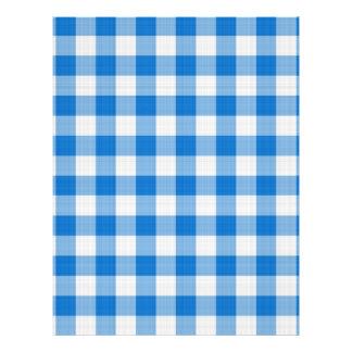 blue table cloth flyers