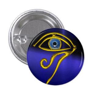 Blue Talisman Button