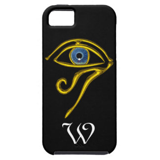 BLUE TALISMAN MONOGRAM ;black iPhone SE/5/5s Case