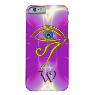 BLUE TALISMAN MONOGRAM  Pink Fuchsia Purple Barely There iPhone 6 Case