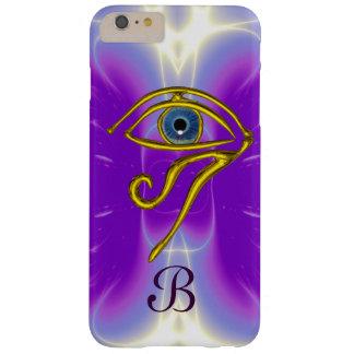 BLUE TALISMAN MONOGRAM  Pink Fuchsia Purple Barely There iPhone 6 Plus Case