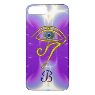 BLUE TALISMAN MONOGRAM  Pink Fuchsia Purple iPhone 7 Plus Case