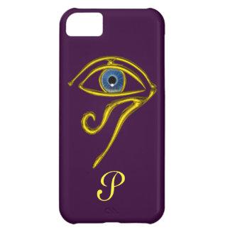BLUE TALISMAN MONOGRAM Purple iPhone 5C Cover