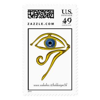 Blue Talisman Postage