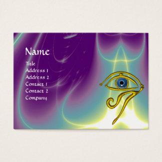BLUE TALISMAN, purple violet white Business Card