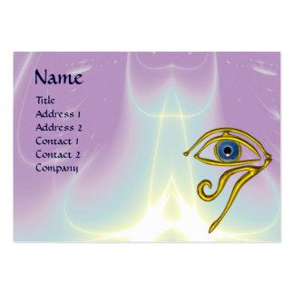 BLUE TALISMAN, purple violet white Large Business Card