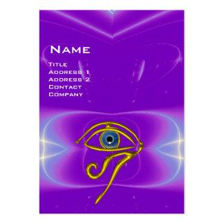 BLUE TALISMAN, purple violet white pink Large Business Card