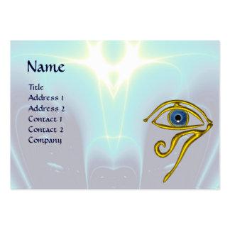 BLUE TALISMAN, purple  white Large Business Card