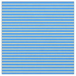 [ Thumbnail: Blue & Tan Colored Lines Pattern Fabric ]