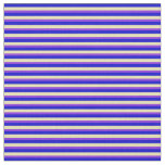 [ Thumbnail: Blue, Tan & Purple Striped/Lined Pattern Fabric ]
