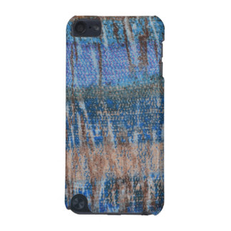 Blue & Tan Tye Dye iPod Touch 5g, Barely There iPod Touch (5th Generation) Cover