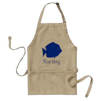 Blue Tang Adult Apron