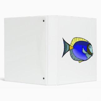 Blue Tang Fish Binder