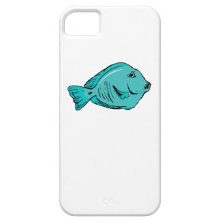 Blue Tang Fish iPhone 5/5S Cover