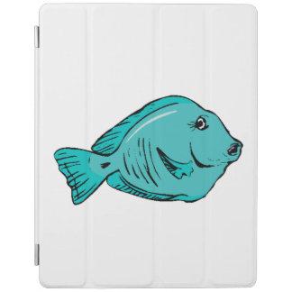 Blue Tang Fish iPad Cover
