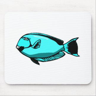 Blue Tang Fish Mousepads