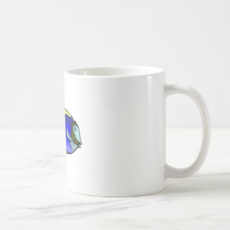 Blue Tang Fish Coffee Mug