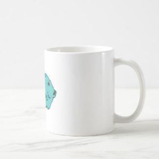 Blue Tang Fish Coffee Mugs