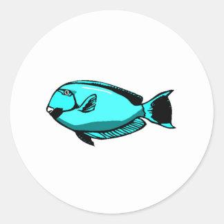 Blue Tang Fish Sticker