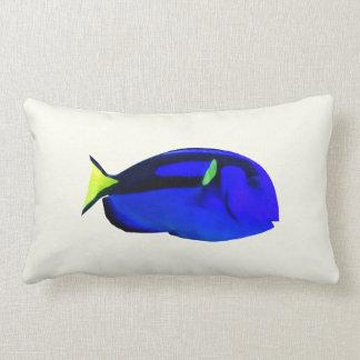Blue Tang Lumbar Pillow