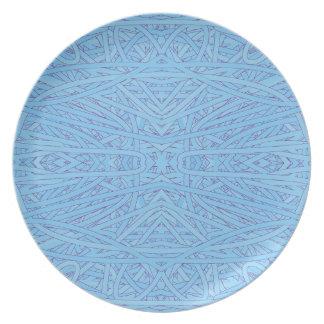 Blue Tangle Dinner Plate