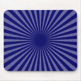 Blue Target - Mouse Pad