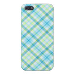 Blue Tartan Goodness Cover For iPhone 5