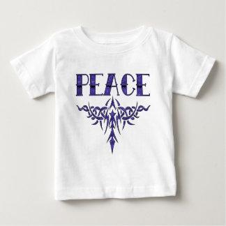 Blue Tattoo Peace Art Baby T-Shirt