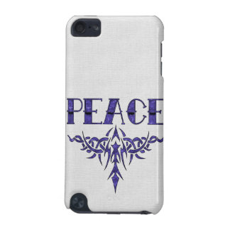 Blue Tattoo Peace Art iPod Touch 5G Case