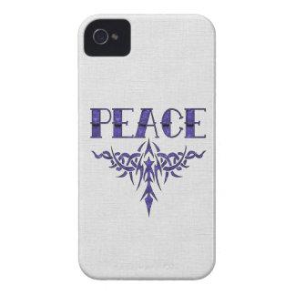 Blue Tattoo Peace Art iPhone 4 Covers