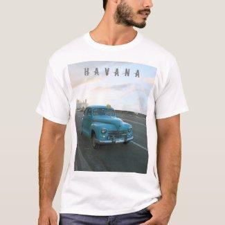 Blue taxi Havana T-Shirt