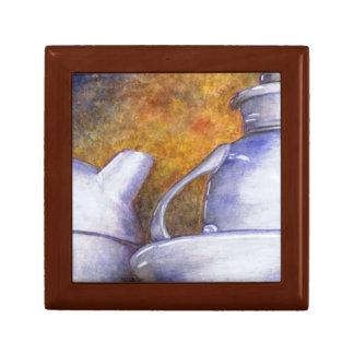 Blue Tea Set Gift Box (Lori Corbett)