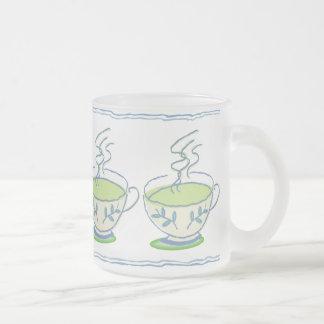 Blue Tea Set Mug