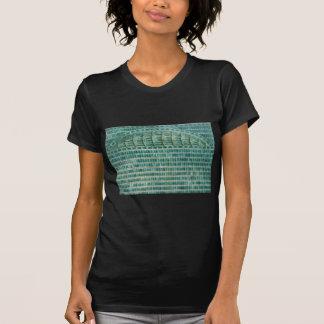 blue teal tiles T-Shirt