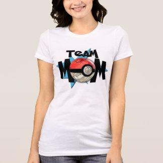 Blue Team Mom T-Shirt Mystic
