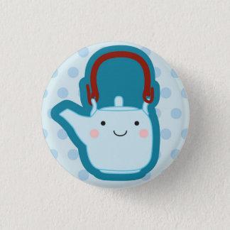 Blue Teapot Button