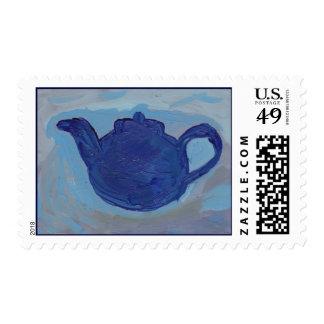 Blue Teapot Postage