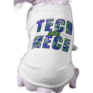 Blue Tech and Mech Shirt