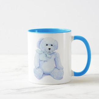Blue Teddy Bear Mug