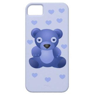 Blue Teddy Bear Pink Teddy Bear iPhone 5 5S Bare iPhone 5/5S Cover